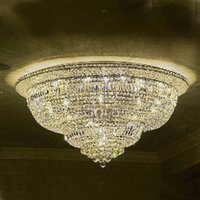 Wholesale K9 Crystal Ceiling Light Modern K9 Crystal Ceiling Light Lights Living Room Hotel Crystal Lighting Fixture cm