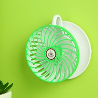 Cheap Universal Slide-proof Plate Coffee Cup Shaped USB Cooling Fan Table Desktop PC radiation and Wall Hanging Hole