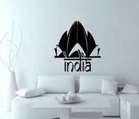 adhesive india - India wall decals vinyl stickers home decor living room decorative stickers bedroom wallpaper murals decoration