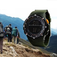 wrist watch - New Military Sport Wrist Watch waterproof Silicone Men s Quartz Rubber Watch freeshiping
