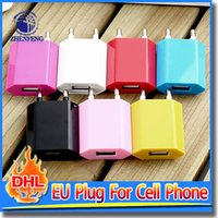 apple european power adapter - European USB AC Wall Power Adapter EU Plug Charger For iPhone s Pink White Red Blue Black Rose Yellow