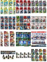 Wholesale SY series heroes Star Wars Ninjago iron spider man Action Figures Blocks Minifigures