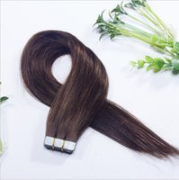 remy tape hair extensions wholesale - 7A grade remy tape hair extensions quot quot straight tape in human hair extensions PU skin weft hair g pack