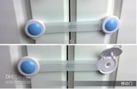 Wholesale HOT Child protection Baby safety products Cabinet Lock Safe Lock Refrigerator lock extended