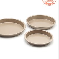 Wholesale USA Inch Pizza Pans Round Bread Baking Dishe Pans FDA Food Grade Cakes Ovenware Cake Bake Pan Dishes Bakeware Loaf Dish Comal