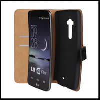 Cheap for LG D958 Wallet Cover Best for lg G flex case