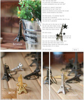 eiffel tower - Creative elegant small gifts Sentiment retro romantic Paris Eiffel Tower key chain key ring