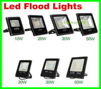 led floodlights - Led Floodlight V W W W W W W LED Landscape Led Outdoor Flood Light Waterproof led lamps FEDEX DHL free ship