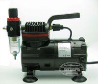 air compressor paint car - 2015 b mini air compressor painted model pump car colored drawing model variegating spray pump model pump