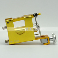Cheap Wholesale-Professional Dragonfly tattoo equipment supply golden motor rotary tattoo machine free shipping