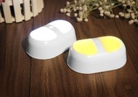 Wholesale Motion Sensor LED Baby Night Light Battery Powered Wall Path Light Perfect for Children Bathrooms Basement Hallway Laundry Room