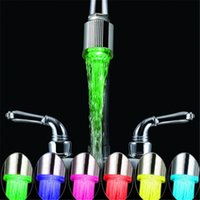 Wholesale Home decor Basin Faucets Celsius SDF A5 LED Tap with pattern Degrees high quality
