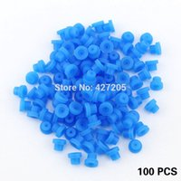 Wholesale New Top Quality Blue Silicone Half Grommets Nipples for Tattoo Machine Needles Supply Tattoo Accessories
