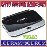 Wholesale 34P Vensmile XBMC FULLY LOADED CS918G Plus Android TV Box Amlogic S805 Quad Core GB RAM GB ROM G G WIFI P HD media player DH