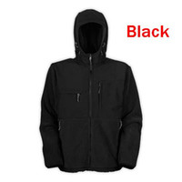 men jacket - Men s Outdoor Classic Fleece Hooded Jackets Fashion red SoftShell Windproof winter hoodies jacket coat