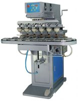 Wholesale 6 Color Pad Printing Machine with Carousel