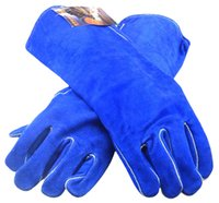working gloves split leather - Leather Work Glove Leather Welder Glove Split Cow Leather Welding Gloves