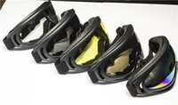 Wholesale New X400 UV Protection Goggle Glasses Stylish Motorcycle Bike Cycling Ski Glasses Goggle Snowboard Sunglasses Eyewear Lens FJ003