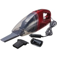 Wholesale Mini Red Car Portable Handheld Lightweight High Power Wet and Dry Vacuum Cleaner order lt no track