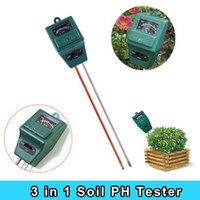Wholesale High quality Garden Convenient in Soil Water ph Moisture Light Test Meter PH Tester for Plant Flower