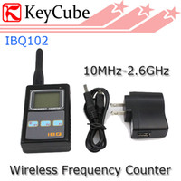 Wholesale IBQ102 Handheld Portable Two Way Radio Frequency Counter Meter Wide Test Range MHz GHz