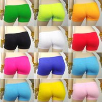 Cheap Chic Womens Safety Underwear Yoga Short Pants Underpants Shorts Belly Dance Costume