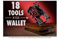 Wholesale Factory multifunction wallet card tool NEW quality Credit Card Pocket Tool in Multi purpose EDC tool Multi Tool