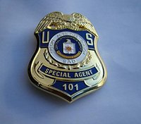 animal agent - Us Cia Special Agent Special Activities Division Sad Metal Badge Brooch Pin