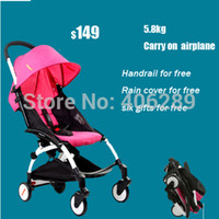 baby carry - Kiddopotamus baby car yuyu baby stroller umbrella car light ultra light yoya cart travel version stroller easy carry on airplane