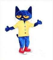 2,015 Haut Pete qualité de la taille chat adulte Halloween Cartoon Mascot Costume de déguisement