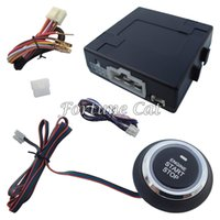 Wholesale Car Engine Start Stop System Work With All Car Alarm System With Remote Engine Start Function Fast Shipping