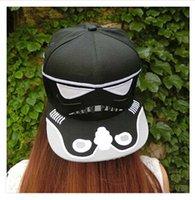 brand baseball cap - Cartoon Star Wars Caps Hip Hop Fashion Brand Star Wars Darth Vader Snapback Caps Cool Baseball Cap Hip hop Hats For Men Women m0901