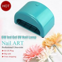 arch lamp - Professional Nail Art New Hot US Plug V V Voltage UV Gel Nail Dryer Mini W UV LED lamp arch shape for your available
