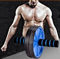 ab exercise mat - New Arrive Double Wheeled Dual Abdominal Wheel Ab Roller With Mat For Exercise Fitness Equipment