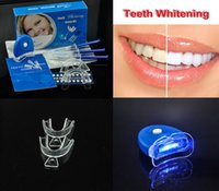 Wholesale Tooth Whitener Home Use LED Bleaching Teeth Tooth Whitening Kit Whitener Oral Hygiene Health Beauty Free DHL Factory Direct