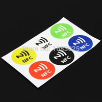 Wholesale Hot Sale x Waterproof NFC Smart Tags Sticker Chip Rfid Adhesive Label for MX3 for SamsungS4 for Lumia order lt no track