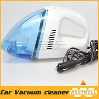 Wholesale New high power V mini portable Handheld Car vacuum cleaner wet and dry dual use super suction meters v