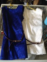 best belts style - 2015 Summer Best Sale Children Solid Color Sleeveless Dresses with belt Girls Fashion Dresses Kids Cute Dresses