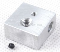 Wholesale Aluminium Heater Block Assembly for RepRap Makerbot D Printer Extruder Hot End