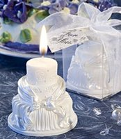 aromatherapy pillar candles - cake candles wedding candles romantic propose candle love wedding party gift wedding favor high grad gift