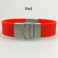 american security alarms - fashion men s personal security alarm silicone and stainless steel clasp and plate engravable name ID bracelet