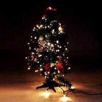 Wholesale Solar LED String Lights LEDs M Decoration Fairy LED String Light For Christmas Tree birthday Party Outdoor Garden Home