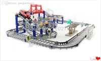 Wholesale Hot sale children s toys Hot Wheels electric rail car train baby desktop multi long racing suits