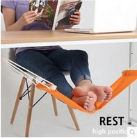 Wholesale Piece FUUT Desk Feet Hammock The Foot Hammock Orange