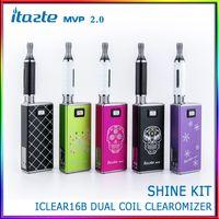 Cheap 2014 New Electronic Cigarette Innokin iTaste MVP 2.0 Shine Edition Starter Kit Swarovski Elements Design With iClear16B Atomizer E Cigarette