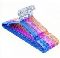 Wholesale Multifunction Hangers Drying Racks Quality Metal clothes hangers Fluted Hangers