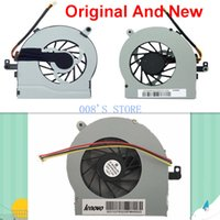 Wholesale Original Notebook CPU Cooling Cooler Radiator Fan Fit For Lenovo Ideapad Y450 Y450A Y450G Y450AW KSB0505HA J78 V A Wires