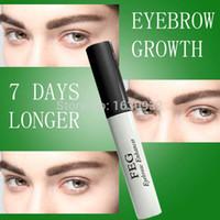 Wholesale FEG eyebrow enhancer DAYS Original Promising effective FEG Eyebrows Enhancer Eyebrow thicker growth quickly eyebrow growth The snail conc