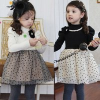 Wholesale Children clothes Girls long sleeved frozen dress thickening autumn and winter new princess dress for party
