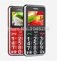 Wholesale the cheaper GSM old man mobile phone A111 dual band single sim with SOS FM torch Loud Sound big speakers Cell Phone Senior elder Phone A555